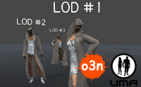 LOD Slots for o3n Female Hooded Robe