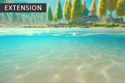 Underwater Rendering for Stylized Water 2 (Extension)