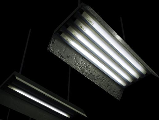 Industrial Fluorescent Light Fittings