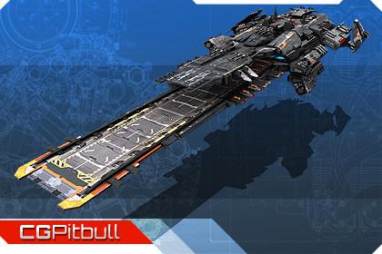 Federation Spacecraft Carrier F5