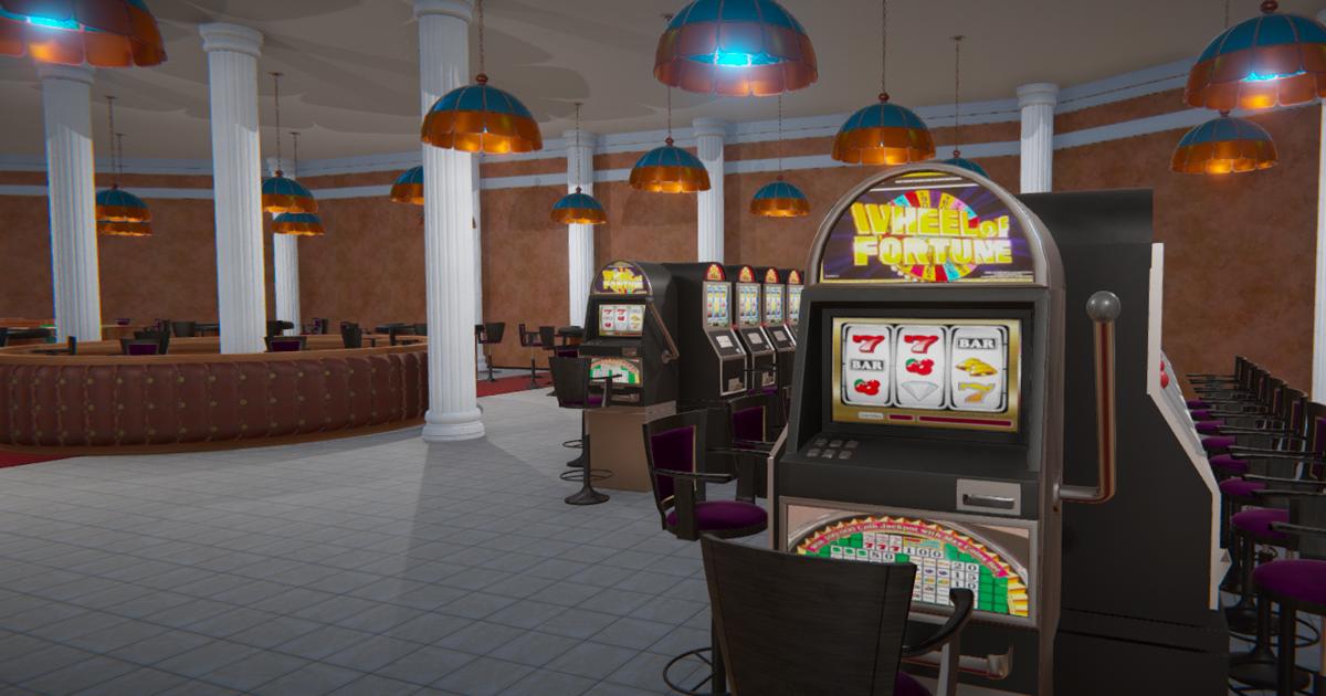 Small casino - interior and props