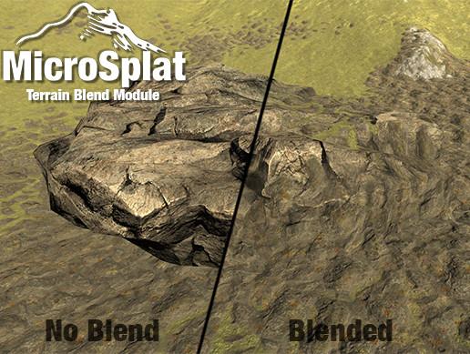 MicroSplat - Terrain Blending - Asset Store