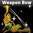 Fantasy Archer Weapons Bow Set Pack