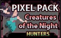 Creatures of the Night: SUPERNATURAL HUNTERS [Monk - Pixel Art Pack]