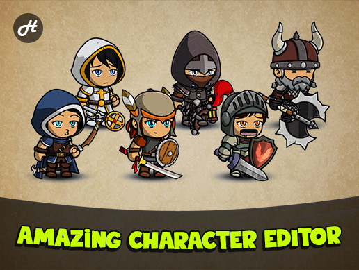 Fantasy Heroes: Character Editor [PRO]