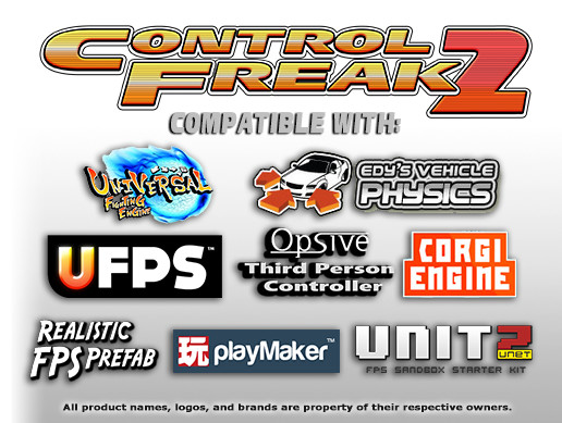 Control Freak 2 - Touch Input Made Easy! - Asset Store