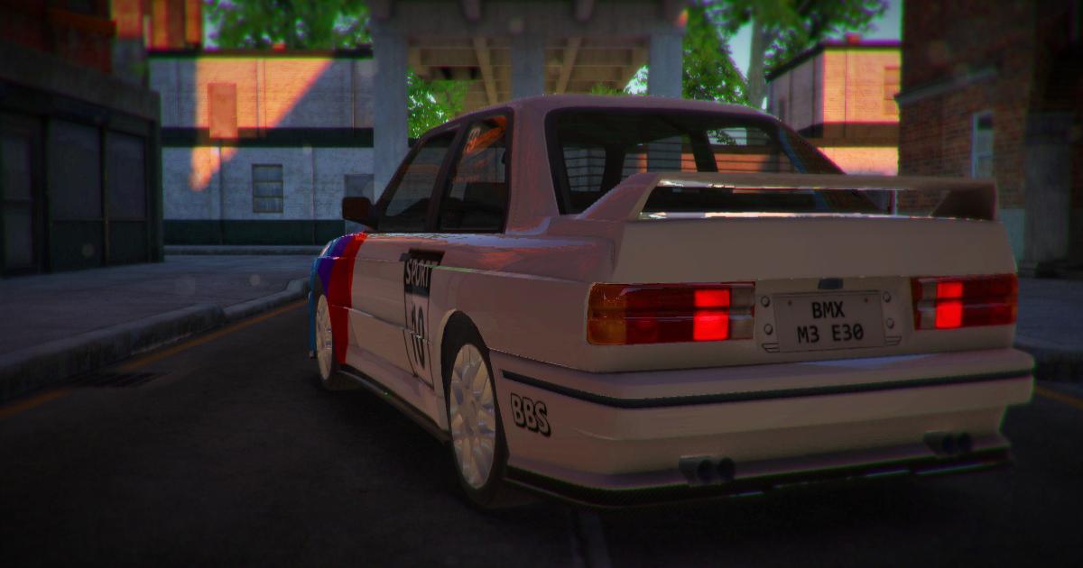 80's Sport Car 1