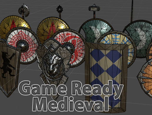 Medieval Weapons And Shields