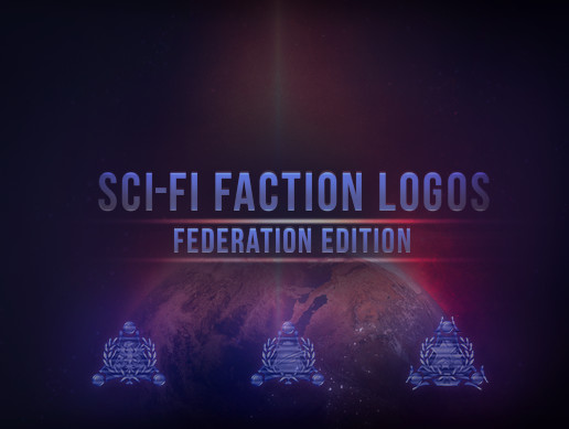Sci-Fi Faction Logos - Federation Edition