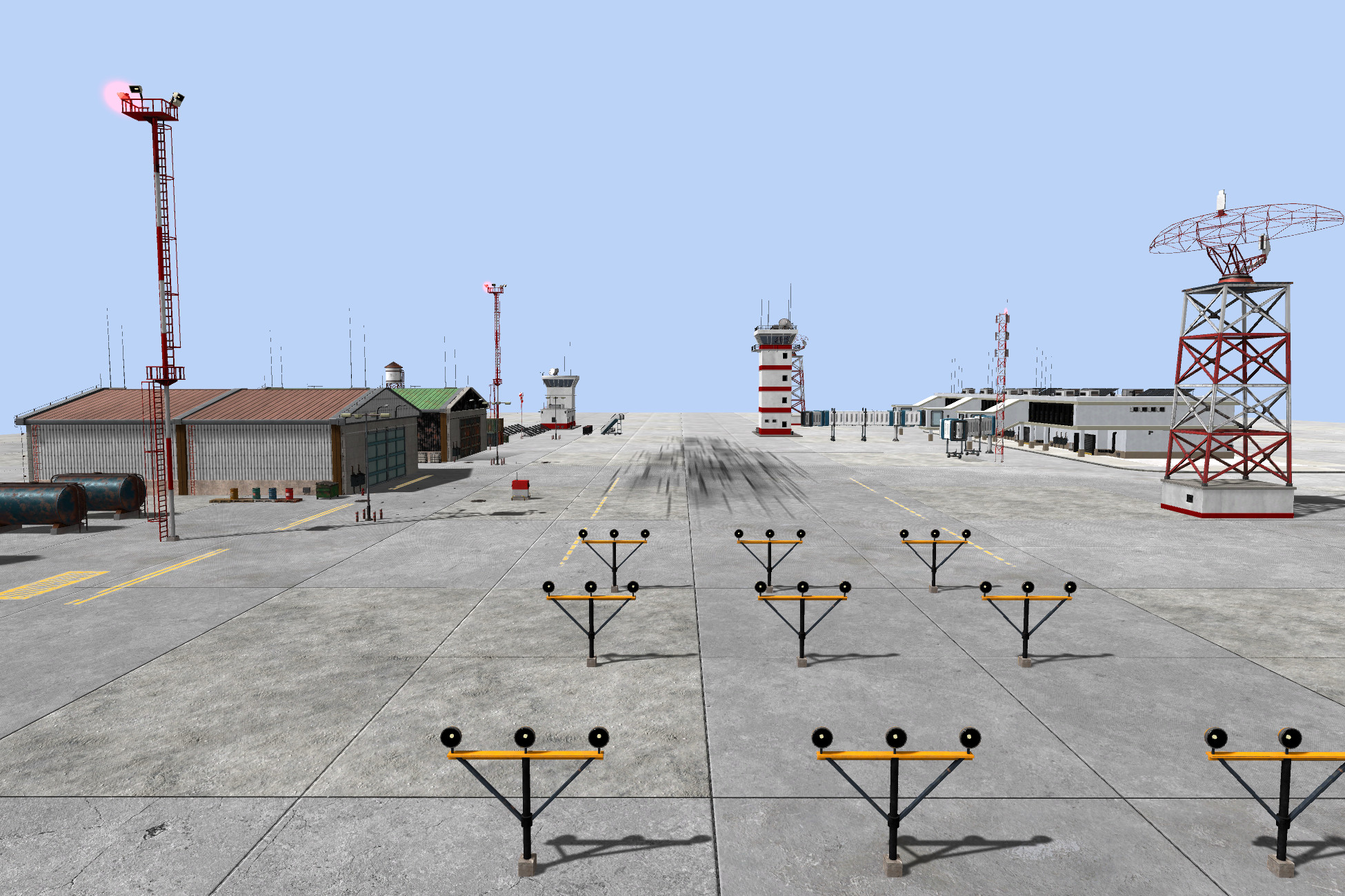 Modular Airport Set
