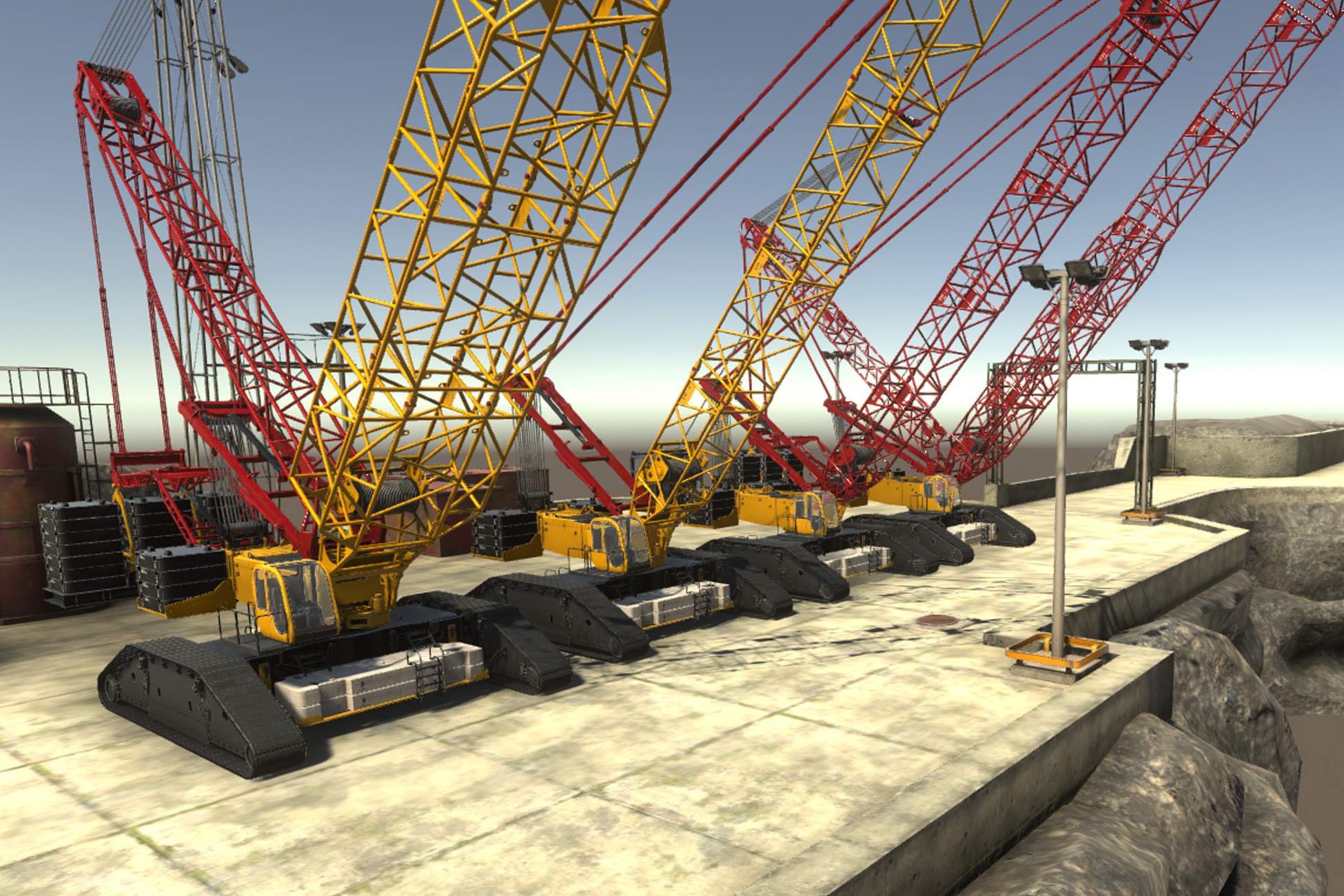 Crane Big v4 (URP)