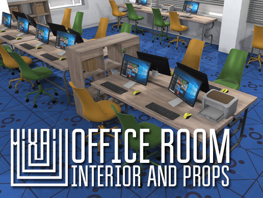 Office room - interior and props