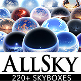 AllSky - 200+ Sky / Skybox Set