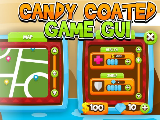 Candy Coated - Game GUI