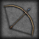 Set of Medieval Bows and Arrows