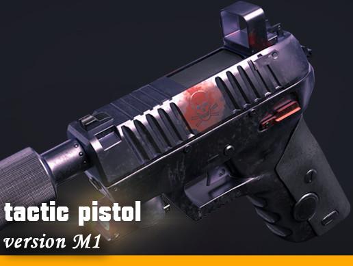 Pistol tactics M1