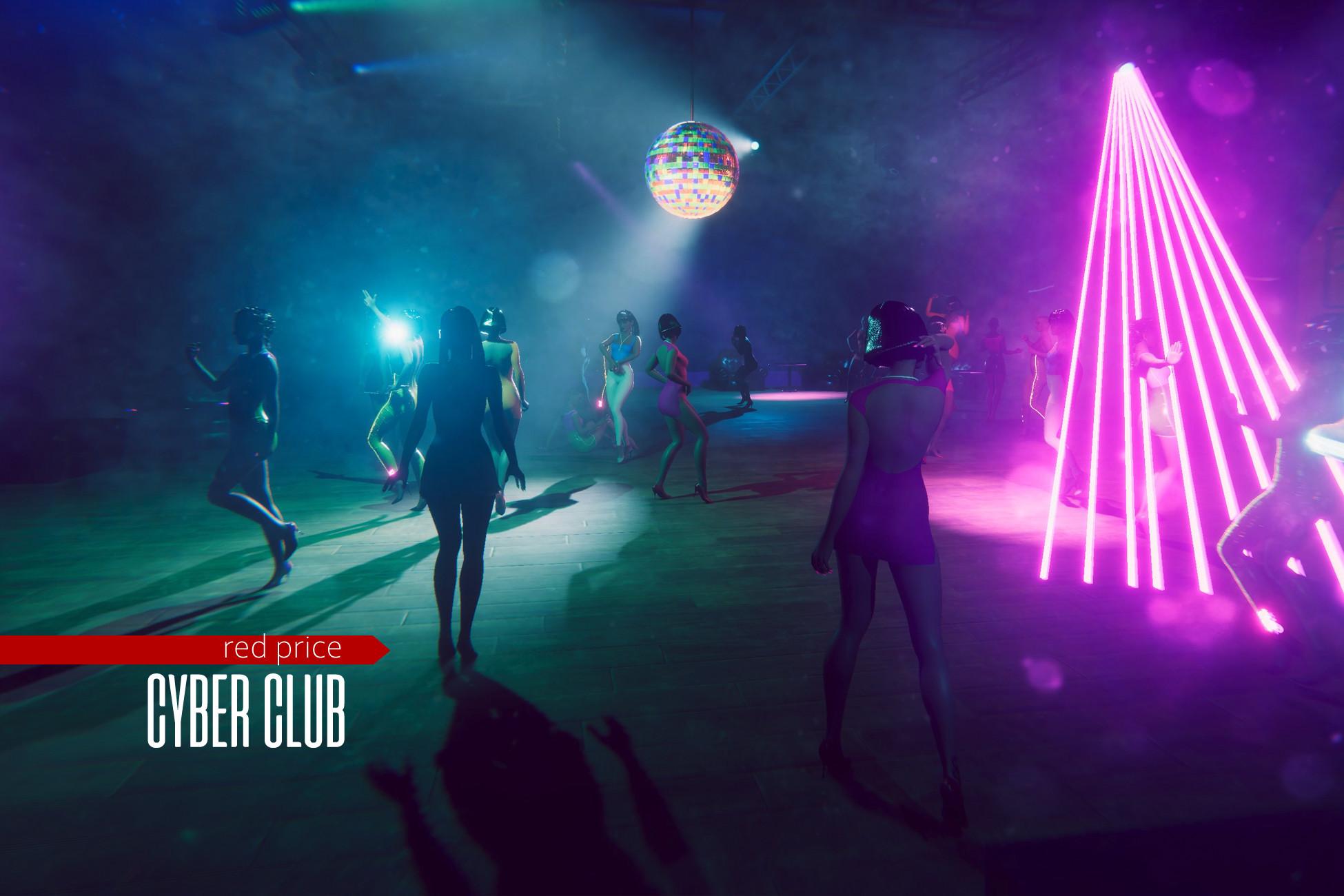 Cyber Club - night club