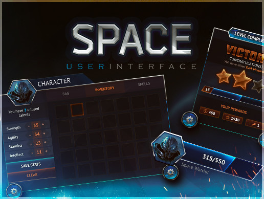 Space GUI — THE INTERFACE OF THE FUTURE