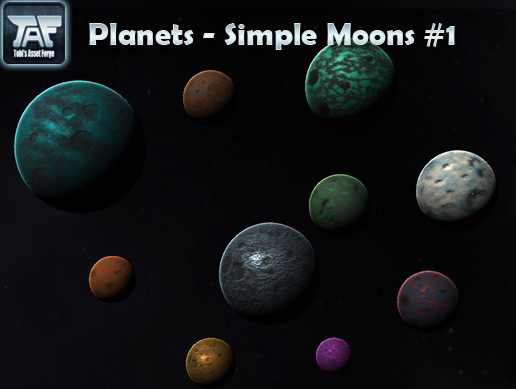 Planets - Simple Moons #1
