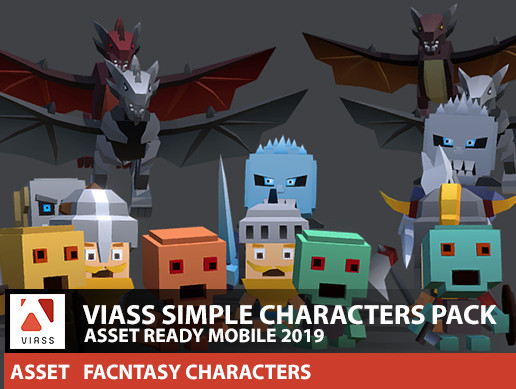 VIASS SIMPLE CHARACTER PACK