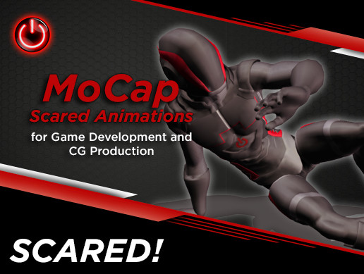 SCARED! - Mocap Animation Pack