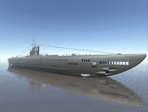 U-Type Submarine WWI