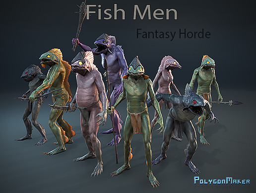 Fantasy Horde - Fish Man
