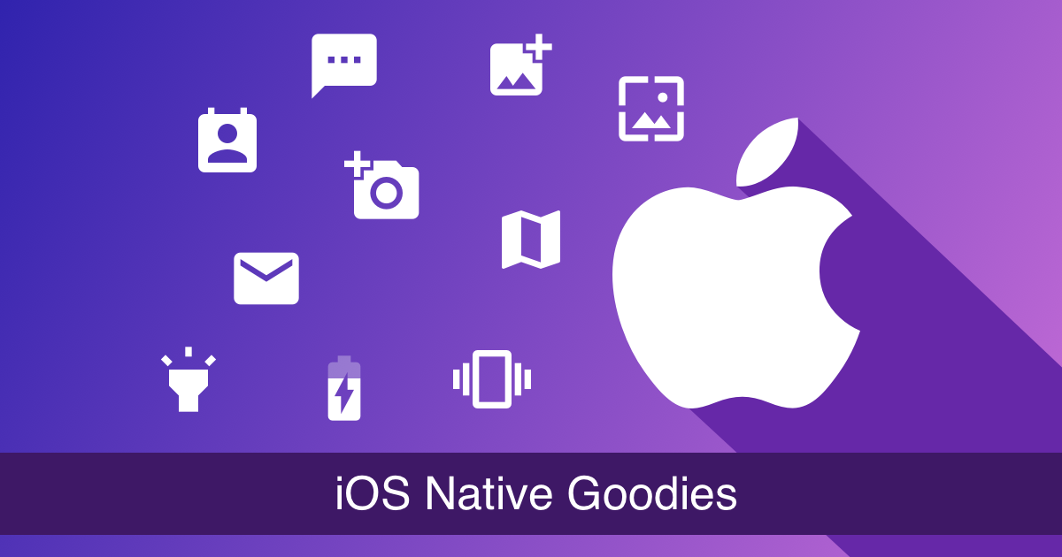 iOS Native Goodies
