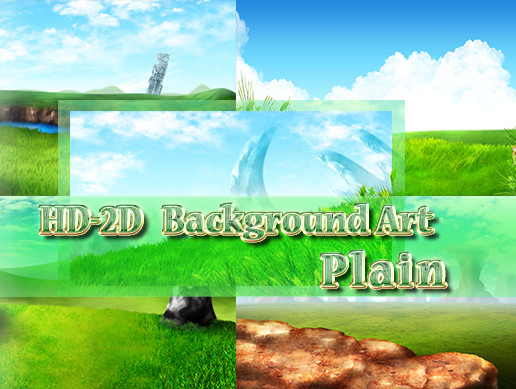 HD-2D Background Art Plain