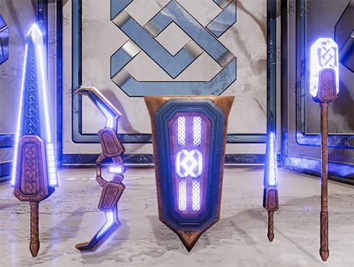 Fantasy Ichka Weapon Set