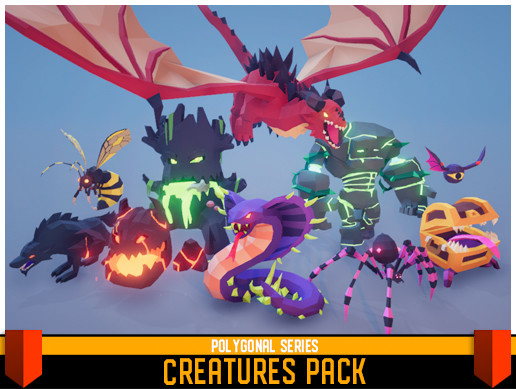 Polygonal - Creatures Pack
