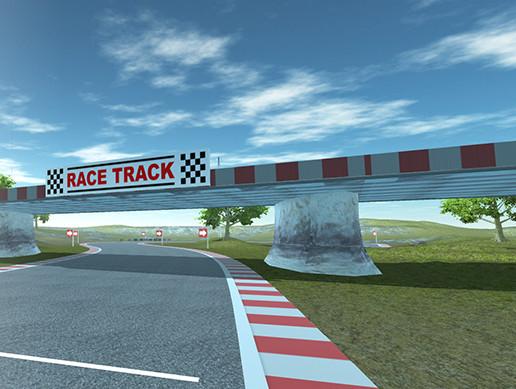 Race Track Level