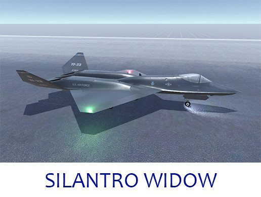 Silantro YF-23 Black Widow II