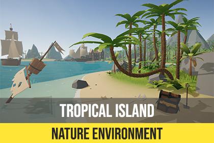 Nature Environment : Tropical Island