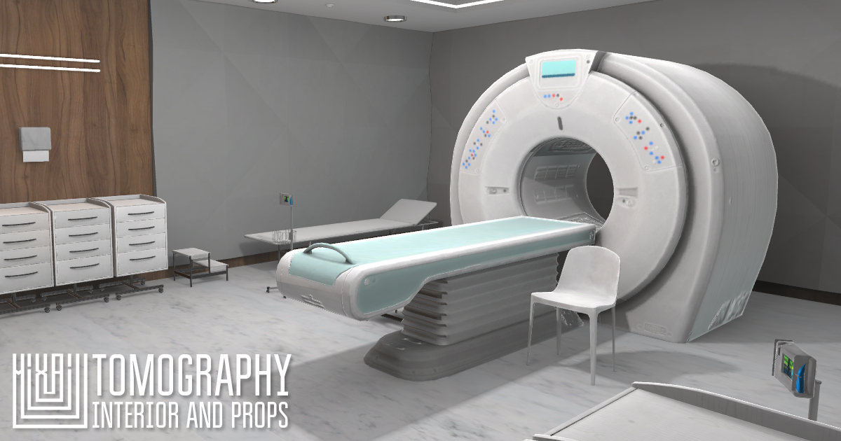 Tomography - interior and props