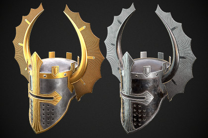 Knight Helmet 08
