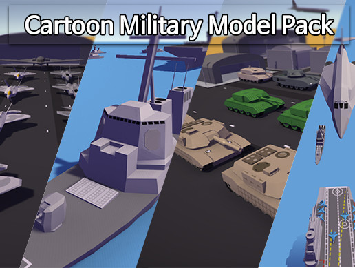 Cartoon Military Model Pack