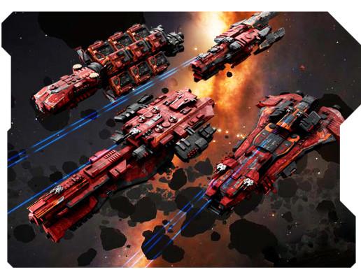 Heavy Spaceships #01