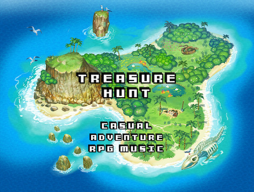 Treasure Hunt - Casual Adventure RPG Music Pack