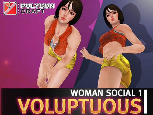 WOMAN SOCIAL 1 (Voluptuous)