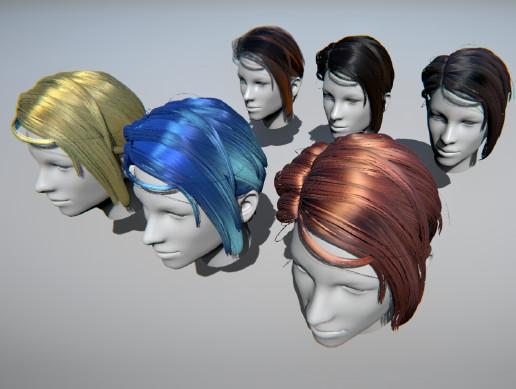 HDRP Hair Shader