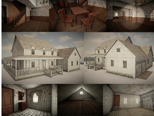 HQ Abandoned House