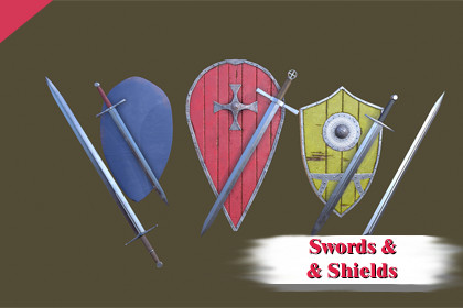 Swords and Shields Pack