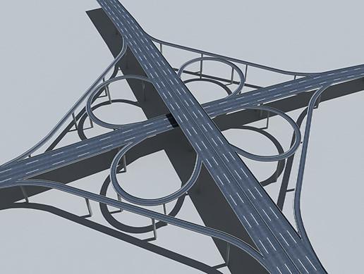 Viaduct flyover