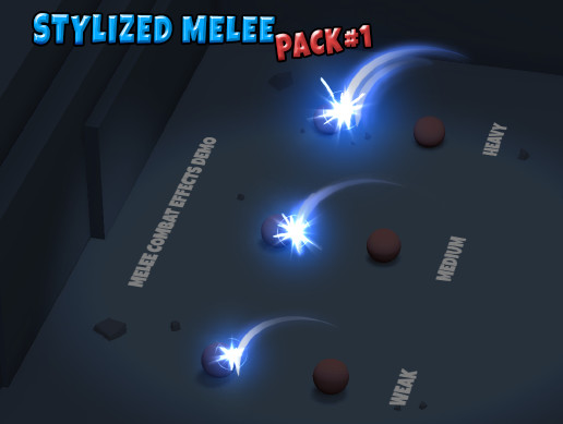 Stylized Melee Pack 1