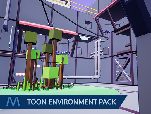 Low Poly Toon Environment Pack