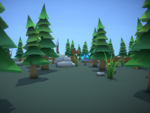 Low Poly - Environment Forest