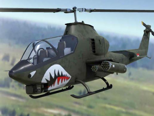 PBR Attack Helicopter of the Vietnam War Era - Asset Store