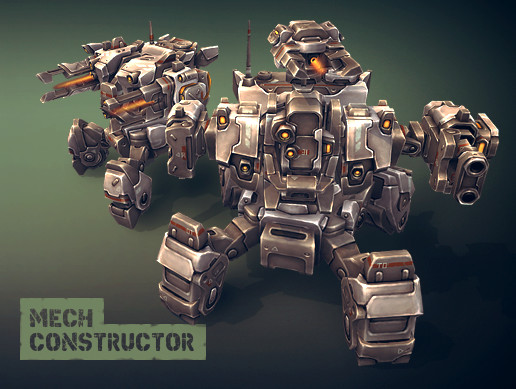 Mech Constructor: Spiders and Tanks - Asset Store