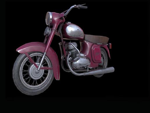 PBR Soviet bike